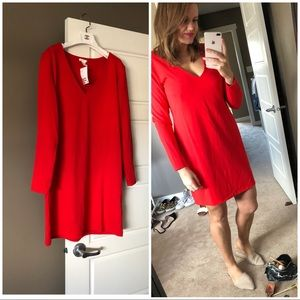 New ! H&M Red Dress Large new with tags